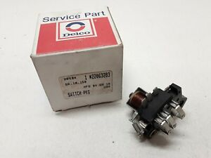 Windshield Wiper Switch-Wiper Motor Park Switch ACDelco 22063283 FAST SHIPPING