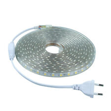 1M-10M Waterproof SMD 5050 LED Strip 220V 230V 60 led/m Flexible Tape Rope Light
