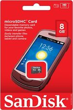 SanDisk 8GB Class 4 - MicroSDHC Card - OEM - SDSDQM-008G-B35A