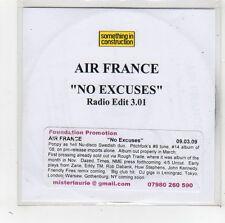 (FW338) Air France, No Excuses - 2009 DJ CD