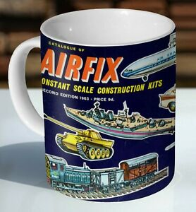 Airfix Catalogue 1963 Advertising Ceramic Coffee Mug - Cup