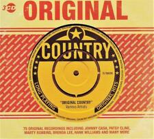 ORIGINAL COUNTRY - VARIOUS ARTISTS (NEW SEALED 3CD)