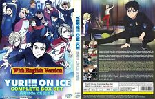 ANIME DVD~ENGLISH DUBBED~Yuri!!! On Ice(1-12End)Eng sub FREE SHIPPING+FREE GIFT