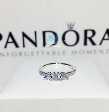 New Authentic Pandora Fairytale Sparkle Three Stone Ring #196242CZ RRP£54