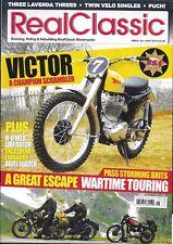 Real Classic Motorcycle Magazine Bsa Victor Scrambler Wartime Touring Liberator