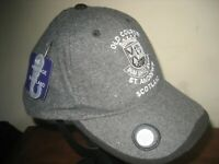 New - Old Course St Andrews Grey Golf Cap