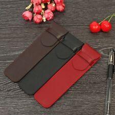 Pen Roller Pen Pencil Leather Case Pouch Holder Storage Bag Student Supplies