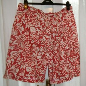 Paul Smith Brown/Beige Floral Shorts L