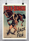 Strongman Lifting Horse Circus Sideshow Poster Fine Art Print on Canvas or Paper