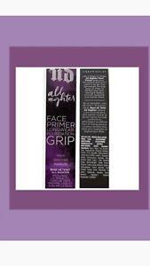 Urban Decay all Nighter Face Primer Longwear Foundation Grip 30ML ful sz NEW BOX