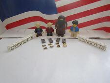 LEGO HARRY POTTER MINFIGURE'S ALL (4) FROM SET 4714 GRINGOTTS BANK & EXTRA'S