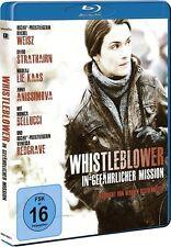 WHISTLEBLOWER - IN GEFÄHRLICHER MISSION (Rachel Weisz) Blu-ray Disc NEU+OVP