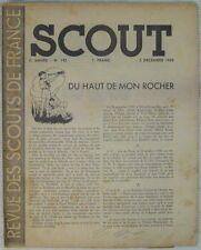 Scoutisme Revue des Scouts de France N° 142 Décembre 1939