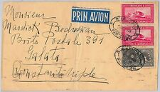 ROMANIA -  POSTAL HISTORY : AIRMAIL COVER to TURKEY 1929 Airplanes