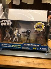 STAR WARS Clone Troopers & Droids Battle Packs  The Clone Wars Cards And May Inc