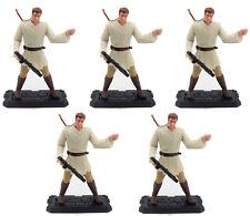 "5Pcs Star Wars Obi-Wan Kenobi Episode 1 Jedi duel 3.75"" hasbro 1999 figure toys"