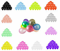 Lots Colorful Pearl Latex Balloon Celebration Party Wedding Birthday 10 inch Dr