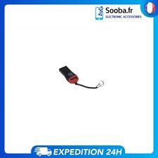 Lecteur de Carte Micro SD Adaptateur USB 2.0 clé USB vers carte SD  Mini Clef