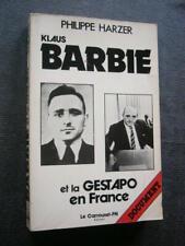 GUERRE 1939 45  KLAUS BARBIE ET LA GESTAPO EN FRANCE