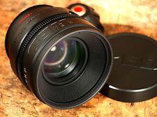 Red 100mm T/1.8 Lens - Feet Scale - PL Mount - Near-Mint
