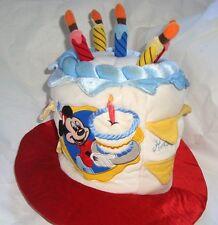 Birthday Cake Disney World Mickey Mouse Happy Birthday Cake Hat Light Up Candles