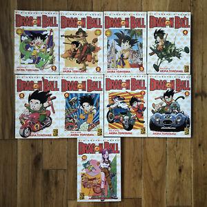 Viz Dragon Ball Anime Manga by Akira Toriyama Vol. 1,2,3,4,5,6,7,8,10 Book Lot