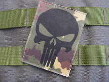 SNAKE PATCH - PUNISHER - VEGETATO --- Airsoft US ARMY special forces SEAL TAP