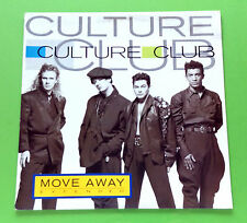 """Culture Club – Move Away (Extended) 12"""" Single"""