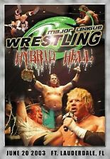 Major League Wrestling: Hybrid Hell DVD, MLW ECW Raven Terry Funk Mike Awesome