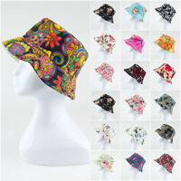 Women Lady Boonie Hunting Fishing Outdoor Cap Flower Floral Bucket Sun Hat lqNQA