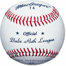 MacGregor® #74 Official Babe Ruth League Baseball (ONE DOZEN)