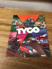 TYCO---1980 CATALOG,, TRAINS AND SLOT CARS 47 Pages