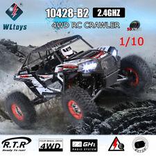 WLtoys 10428-B2 1/10 RC Auto 2,4G 4WD 50Km/h Rock Crawler Offroad Buggy Car C2Q9