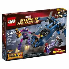 Lego DC Super Heroes 76022 X-MEN vs THE SENTINEL Wolverine Cyclops Minifig NISB