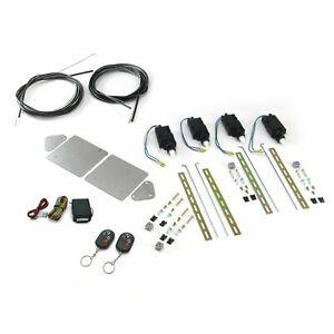 Universal Bolt On Shave Door Kit with Remote AutoLoc AUTSVBCBK8 muscle street