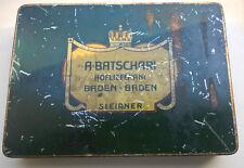 A BATSCHARI - ANCIENNE BOITE 500 CIGARETTES SLEIPNER- CIGARETTENDOSE -RARE -BE