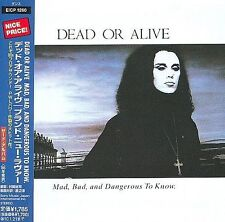Dead or Alive Mad, Bad & Dangerous to Know Japanese Edition (CD, Jul-2009) w Obi