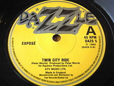 "Expose-Twin City ride 7"" vinyle"