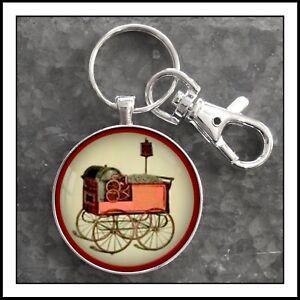 Bartholomew Peanut Roaster Corn Popper Emblem decal Photo Keychain Gift
