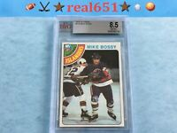 1978 Topps #115 MIKE BOSSY Rookie | BVG 8.5 NM-MT+ | New York Islanders HOF RC