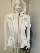 NEW$575 DAWN LEVY 'Kara' Fit Flare Packable Hooded Jacket [SZ Small] #138