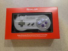 New Sealed Nintendo Switch Online SNES Super NES Wireless Controller