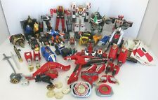 16 PC LOT MIGHTY MORPHIN POWER RANGERS ZORDS ACCESSORIES & PARTS