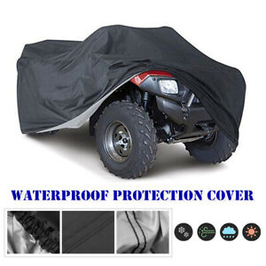 XXL Waterproof ATV Cover Protect Sunproof For Polaris Honda Yamaha Can-Am Suzuki
