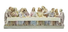 The Last Supper Jesus and his Twelve Apostles Disciples - Veronese Resin Statue