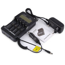 Liitokala EU Plug 4Slots Battery Charger Protection 18650 AA Lithium-Ion Battery