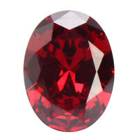 13.89CT PIGEON BLOOD RED RUBY UNHEATED DIAMOND OVAL CUT + LOOSE GEMS 12X16MM