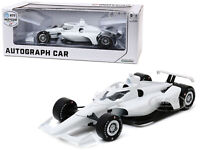 "AUTOGRAPH INDYCAR ""NTT INDYCAR SERIES"" PLAIN WHITE 1/18 DIECAST GREENLIGHT 11075"