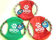 Frisbee for Dog Pull Toy Puppy Toy Tough Rob Ring Chew Pulling Teething Toy