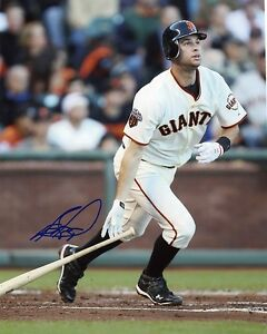 BRANDON BELT AUTOGRAPHED AUTO SIGNED 8X10 PHOTO SAN FRANCISCO GIANTS COA